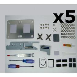 XBox 360 Fat - Kit RROD PRO Extreme Edition V3 ** Pack de 5